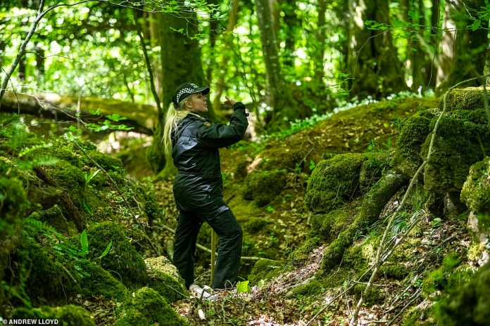 Yesterday a police search team scoured the woods, next to the Stowfield Quarry in the Forest of Dean, Gloucestershire. Man and woman to appear before Cheltenham courts on Saturday