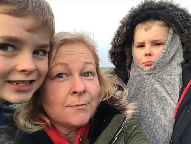 School governerSadie-Marie Murray says she won't be letting her boysSamson, 9, Charlie, 7, and Elias, 4 return to school until she had '100 per cent assurance that schools can maintain the social distancing measures required to keep my children safe'