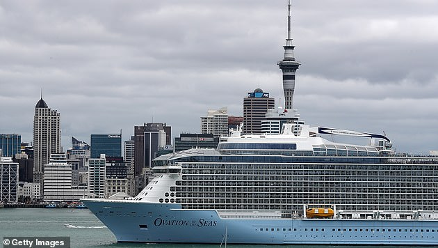 Of the 21 who lost their lives, 19 had been on-board the Ovations of the Seas cruise ship (pictured) and booked to tour the island with Royal Caribbean