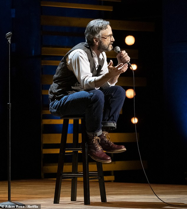 The actor's statement sheds more light on the unexpected circumstances surrounding Lynn's death at age 54 on Friday; seen here in his Netflix comedy special