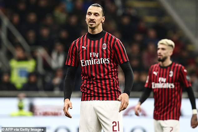 Zlatan Ibrahimovic joined AC Milan in December after a first stint at the club from 2010-2012