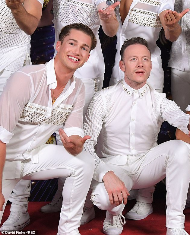 `` I didn't see it coming at all '': the TV star also shared her thoughts on the departure of her professional colleagues Kevin Clifton and AJ Pritchard (photo in 2019)
