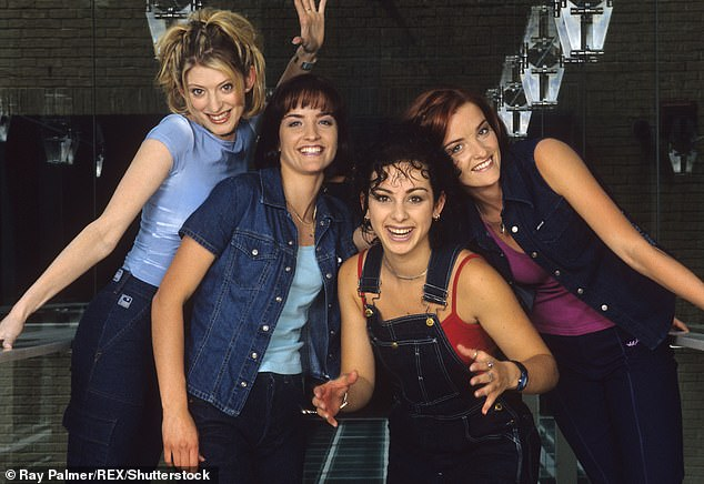C'est la vie: Keavy (far right) and his sister Edele made up half of the '90s pop group B * witched, (pictured in 1999)