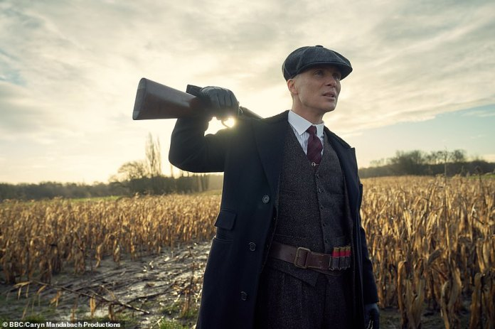 Back to work? Peaky Blinders, who sees Cillian Murphy and Helen McCrory as their leaders and follows a criminal gang from Birmingham in the 1920s, had not yet started filming series six