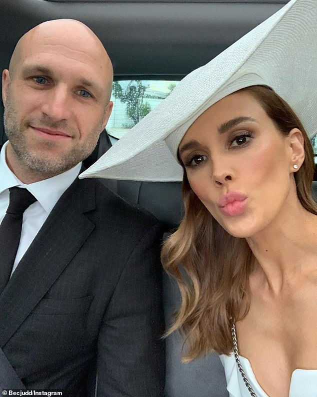 'It almost tore us apart': Rebecca Judd, 37, has revealed the shocking moment that almost RUINED her relationship with husband Chris, 36