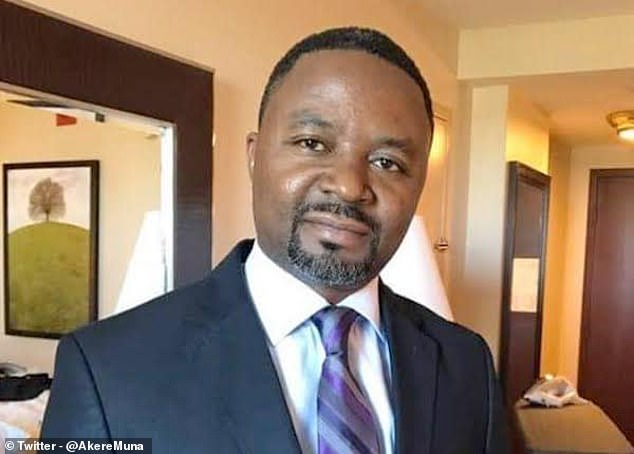 Frankline Ndifor, 39, a candidate in the central African state of Cameroon's presidential election in 2018, claimed to cure Covid-19