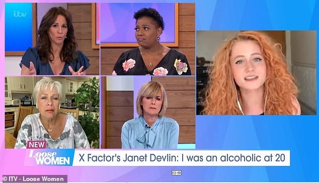 Janet said she often mixes sleeping pills with alcohol, but said that her suicide attempts were