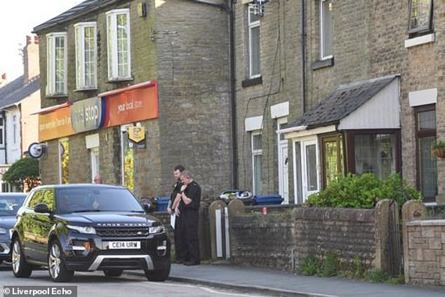 A scene is in placeon Upholland Road while investigation work is carried out, police said