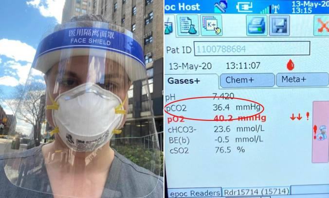 IS wearing a mask bad for you? Nurse's experiment shows her N95 did NOT  drive up her CO2 levels | Daily Mail Online