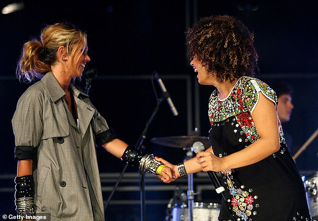 Fancy that! Pip has previously recorded music with Sneaky Sound System. She is credited as 'Pepper' on the band's first album