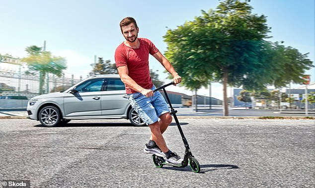 Skoda says the new accessory is perfect for 'the owner who needs to cross the city in style'. Though it's not perfect for the owner who's likely to get a puncture from one of Britain's pothole-ravaged roads
