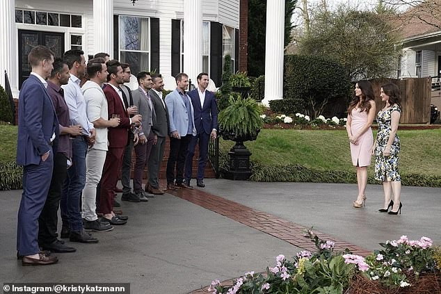 Yikes:On the season premiere, the men are stunned when they learn they have to have their sperm analyzed for fertility if they want to compete for Katzmann's heart