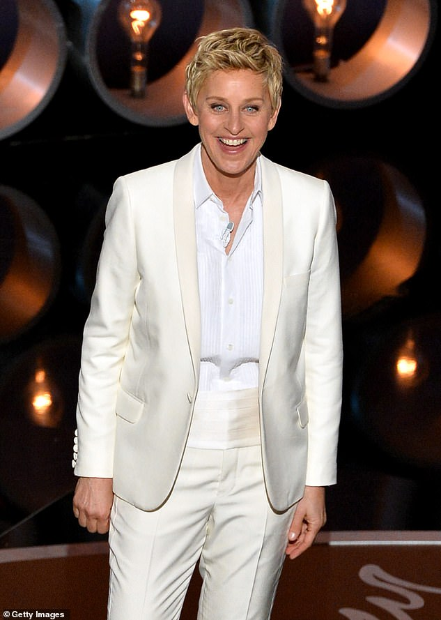 Success story: In 2019, Ellen spoke about her close relationship with her mother despite some difficult moments during an interview with David Letterman. Ellen seen here in 2014