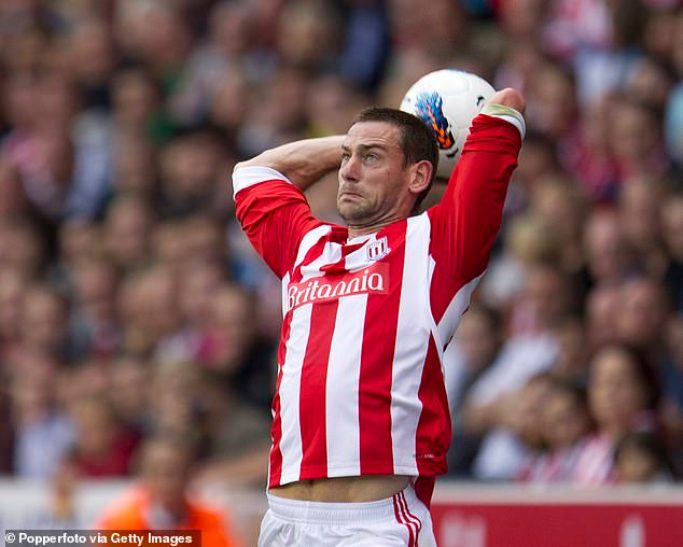 Rory Delap's catapult long throws became a real problem for Arsenal and others to defend