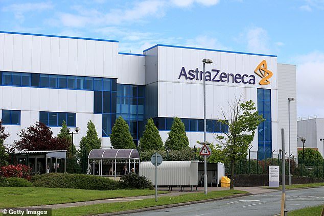 The US government has placed an order for 300 million doses of AstraZeneca's shot, developed with Oxford University