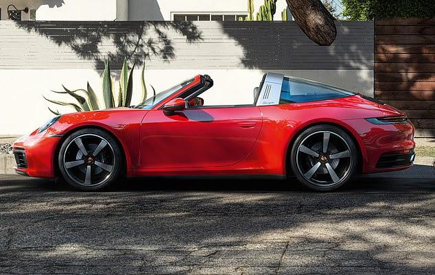 Floração no final do verão: o Porsche Targa 911 de oitava geração a 180 km / h