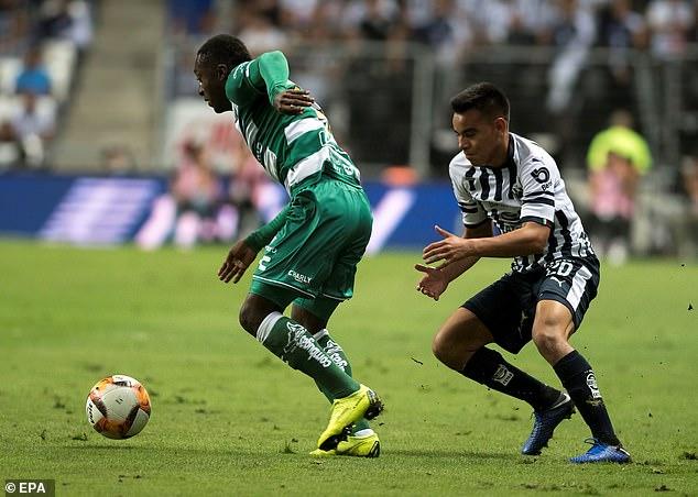 It was announced on Thursday that 12 Santos Laguna players tested positive for coronavirus