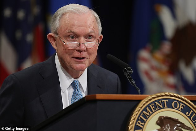 Former U.S. Attorney General Jeff Sessions gave up his 20-year Alabama seat when Trump appointed him Attorney General in 2017 - but he is now fighting to get his old seat back