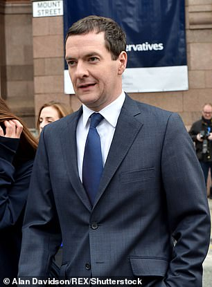 Osborne said he was in a relationship with French party Thea Rogers, in his thirties, who was his special adviser while in government