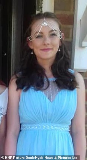 Police investigating the disappearance of 16-year-old Louise Smith were today searching a property