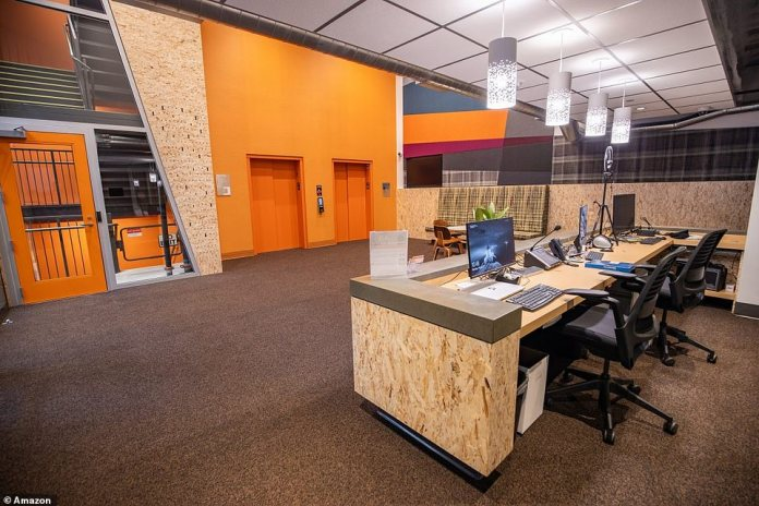 The shelter offers computers for residents to use while job searching or doing homework