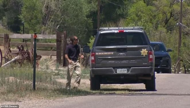 The person who owns the property has been cooperative and is not connected to the mother's disappearance