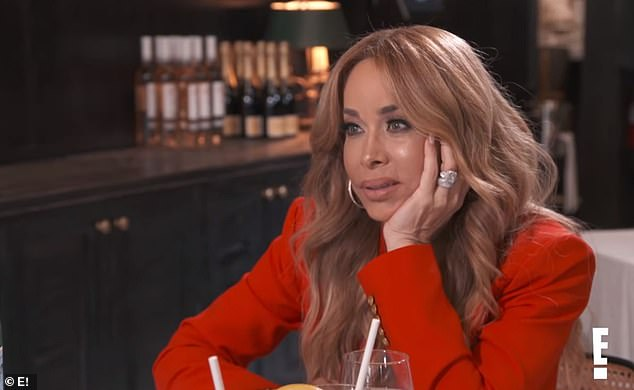 Shock: Kris tells Faye Resnik, a former RHOBH star, that she thinks there must be something wrong with her because she is `` always in the mood '' for sex.