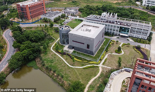 Richard Ebright, professor of chemical biology at Rutgers University in New Jersey, said scientists at the Wuhan Institute of Virology (photo) were creating chimeric coronaviruses (new hybrid microorganisms)