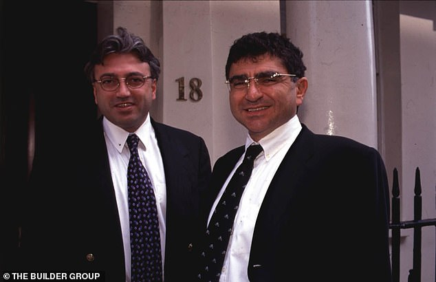 Robert Tchenguiz (left) and his brother Vincent Tchenguizwere born in Tehran in 1956 and 1960, and their father, Victor, was the head of the mint for Iran's ruler at the time – the Shah