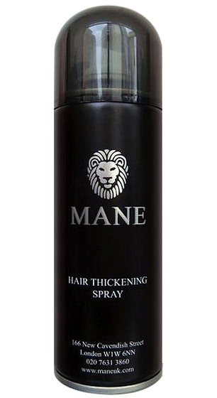 The spray costs around £ 14.95 per box and uses micro-minerals to bind to the remaining hair