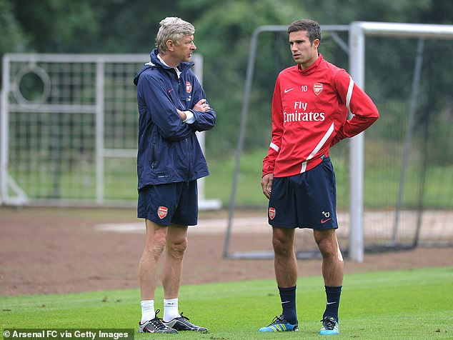 He snubbed Arsene Wenger by saying that Sir Alex Ferguson was the best manager he had worked with.