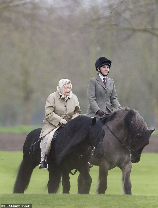 Queen Elizabeth II has been a lifelong horse lover for her entire life and despite being 84 has no intention to stop