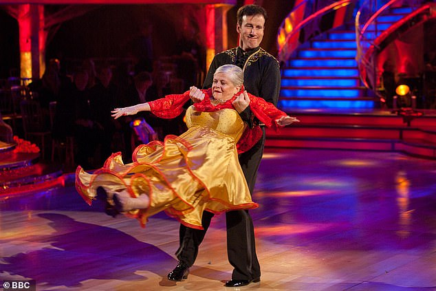 Beloved: It comes amid claims that older stars may be banned from competing on Strictly, due to fears around the coronavirus crisis (2010 contestant Anne Widdecombe pictured)