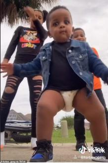 This Baby's Got Personality In his Eyes and Some Bad Dance Moves Too