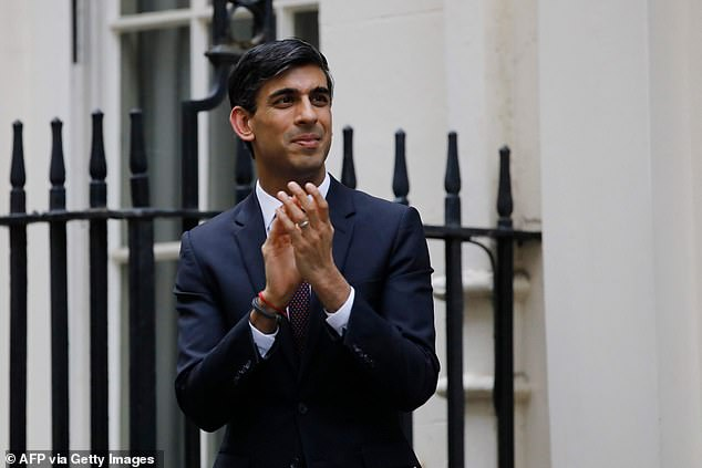 Decision Time: Rishi Sunak won high praise for moving so quickly to inject billions of pounds into the economy to save Britain from bankruptcy after foreclosure