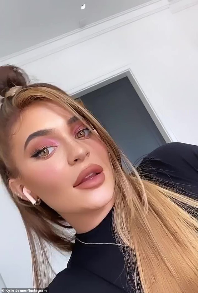 Kylie Jenner Does A Hairstyle Inspired By The 2000s With Glamorous