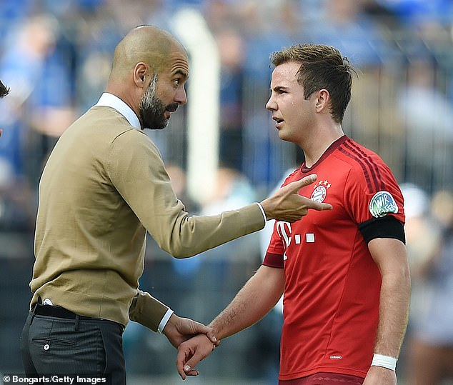 At Bayern, he struggled to have a strong impact under the direction of Pep Guardiola