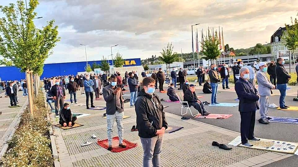 The chairman of the local mosque contacted the IKEA asking whether they could use the car park for prayers over the weekend