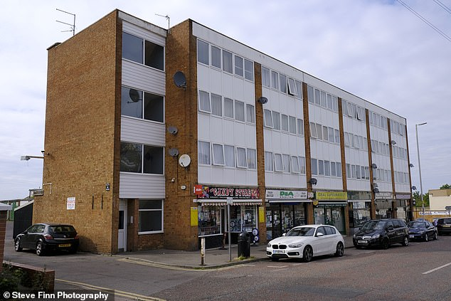 Passers-by were horrified when they saw the young boy smack the ground on Station Road, Rainham, with a 'horrible thud'