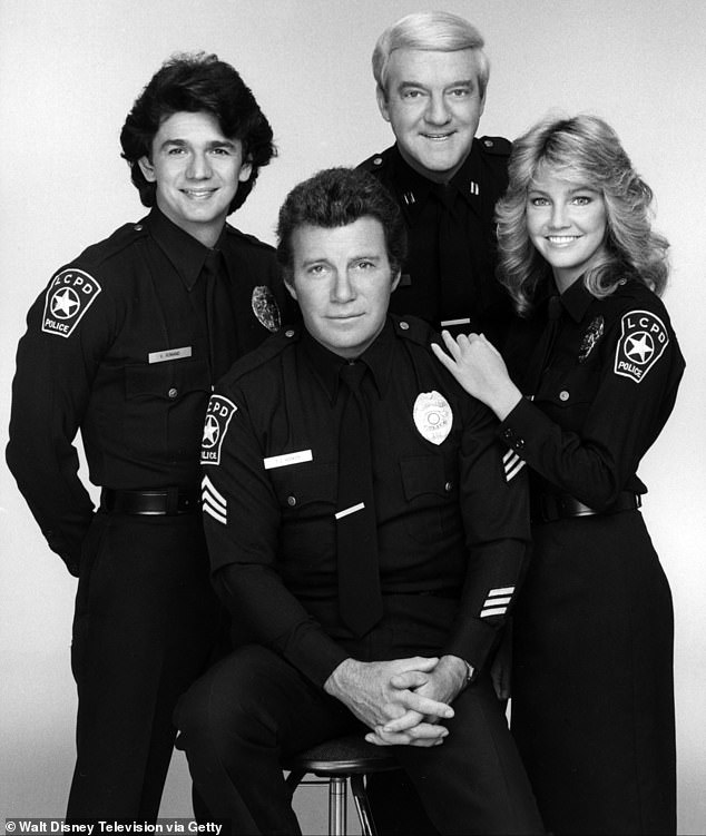 Another hit series: Herd with Adrian Zmed, William Shatner and Heather Locklear on TJ Hooker in 1982