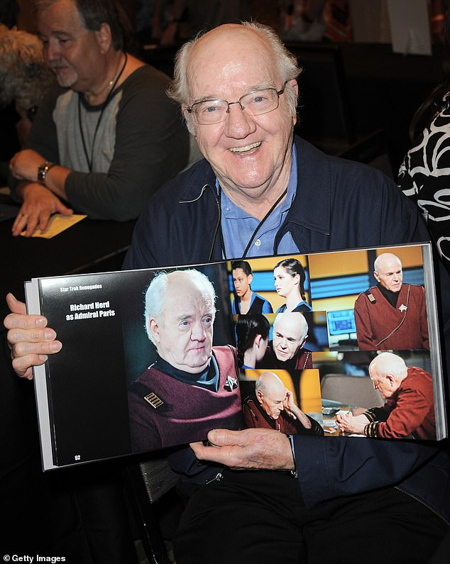 He made the Star Trek book: Herd on day one of The Hollywood Show held in LA in 2015