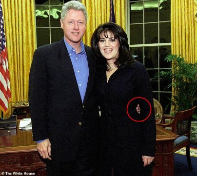 A new book reveals that Jeffrey Epstein claimed that Bill Clinton told him he slept with Monica Lewinsky because she was the 'only girl in the White House' during the 1995 government shutdown
