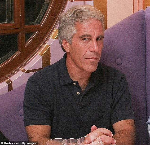 Epstein (photo) committed suicide last August while accused of sex trafficking