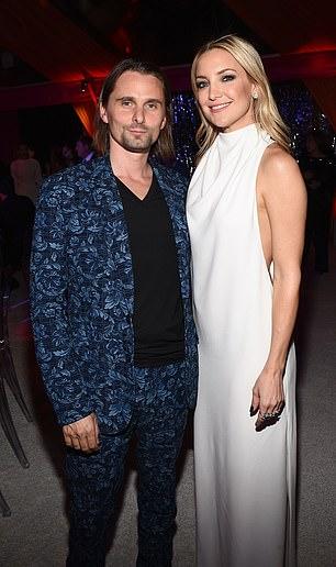 Baby daddies! Kate shares Bingham with ex fiance, Matthew Bellamy (2014)