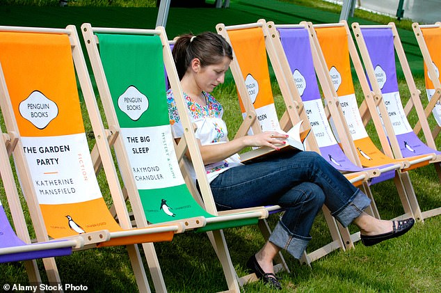 The Hay Festival of literature (pictured) was cancelled for the first time in its history but the digital edition of this year's event was streamed more than 210,00 times in 63 countries