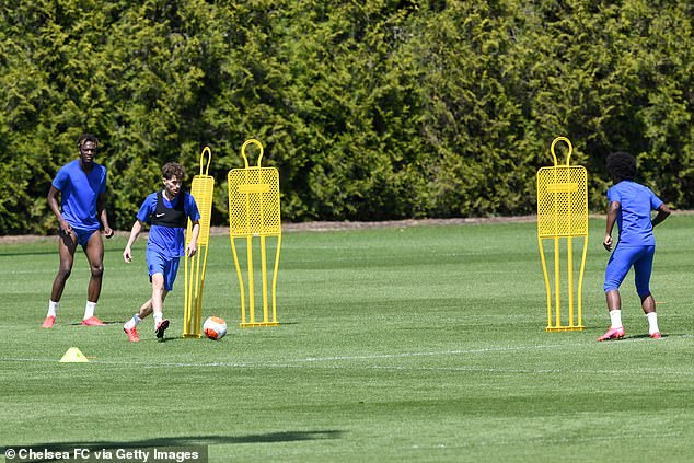 Clubs began training again last week, but were only allowed to work in groups of five