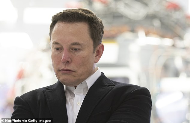 SpaceX chief Elon Musk (pictured at his headquarters in California) has seen his outlandish proposal to nuke Mars rebuked by Russia today