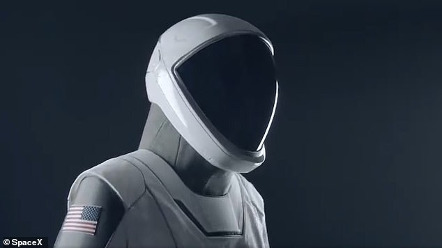The suits were made in Hawthorne, California, at the same facility where SpaceX keeps its rockets. They are tailor-made for each passenger on board the Crew Dragon and designed to be functional, lightweight and offer protection against potential depressurization
