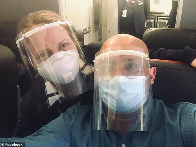 Louis Mendes Paiva, a systems engineer from Weymouth, felt planes were getting more crowded and as a result, more dangerous. Paiva flew with Marie from Boston to Charlotte last week, and posed with a selfie with the attendant