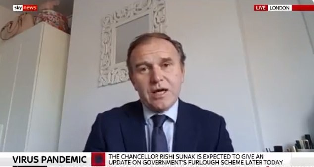 Environment Secretary George Eustice struggled to explain the logic behind the arrangements in a round of interviews today